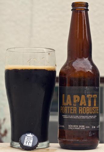 Review: LaPatt Porter Robuste (Brasserie Dunham) by Cody La Bière