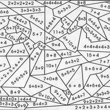 Matemáticas Color Por Número Para Colorear 26 Hojas De Juegos Para