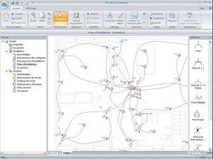 Disjoncteur divisionnaire: Logiciel schema electrique maison gratuit