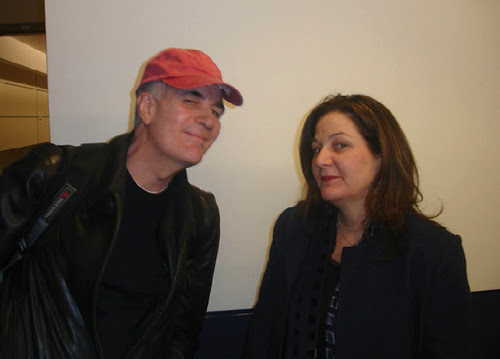 John and Peggy at the airport