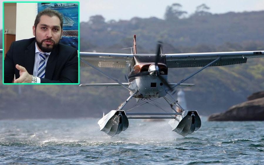 Ο Πρόεδρος της Hellenic Seaplanes στον COSMOS 96,5 : «Μέχρι το τέλος του 2020 έτοιμο το υδατοδρόμιο στην Κεφαλονιά»
