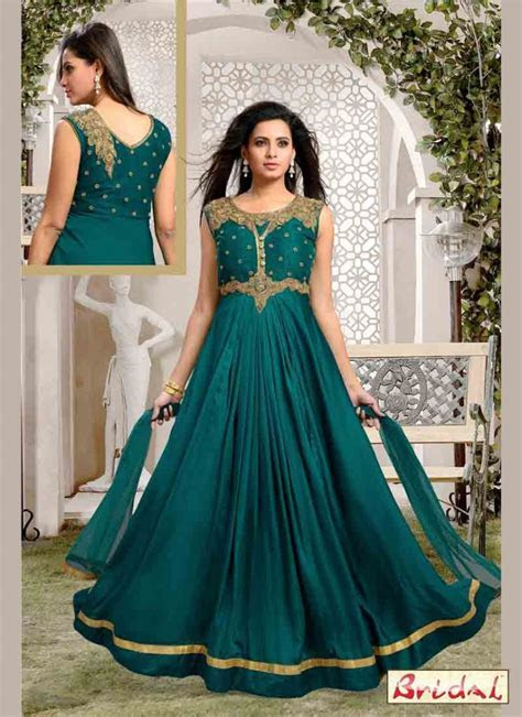 Latest indian anarkali frocks and salwar suit designs 32