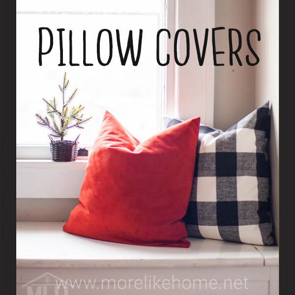 easy envelope pillow cover case christmas