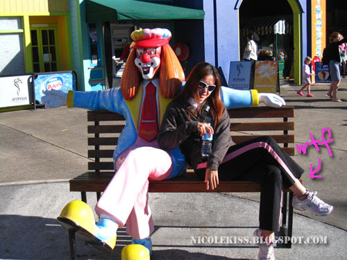 me and clown
