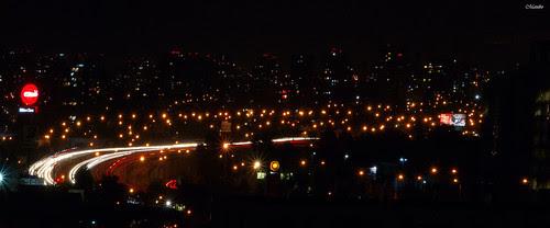 Santiago de Noche. by Alejandro Bonilla