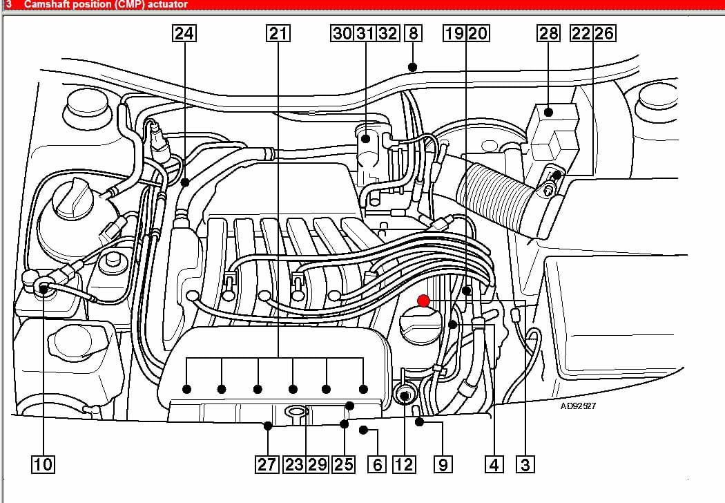 DIAGRAM Obd1 Vr6 Engine Compartment Diagram FULL Version ...