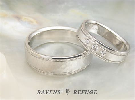 matching platinum wedding bands ? his hers platinum rings