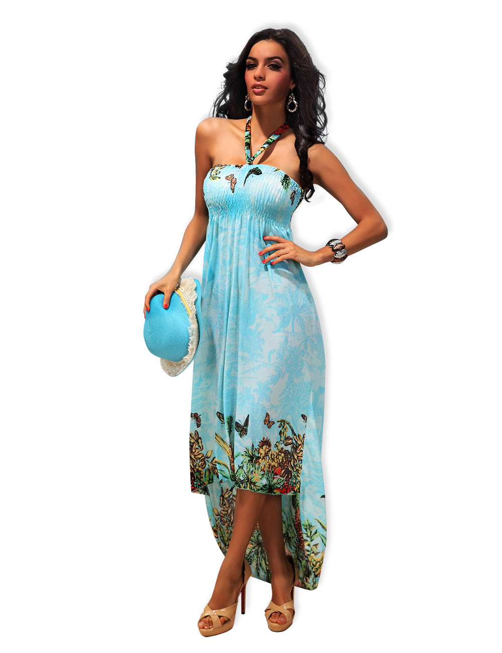 photographs of plus size dresses