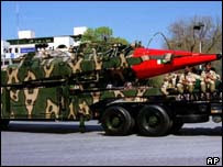 Ghauri missile, Pakistan