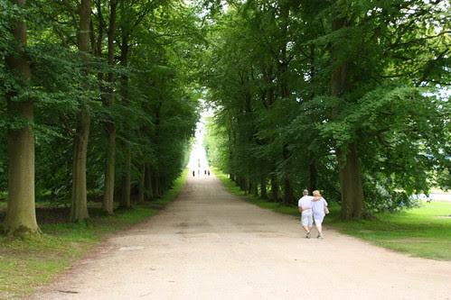Long walk at Chatsworth