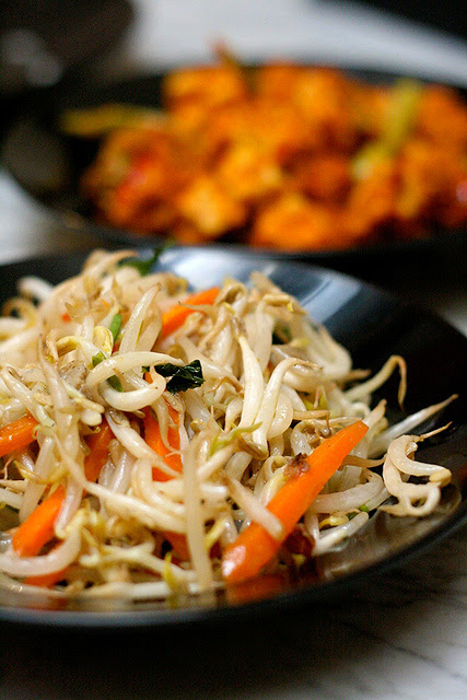 Stirfried Beansprouts
