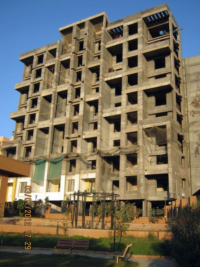 Club House & D Building - 2 BHK Flats, Possession October 2012, at Nirman Viva, Ambegaon Budruk, Pune