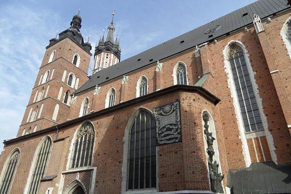 basílica Santa María Cracovia Polonia