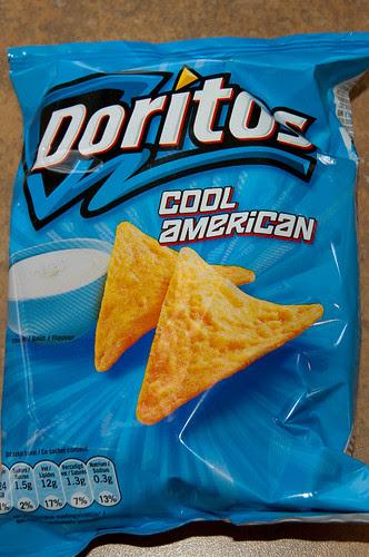 Cool American Doritos flavor