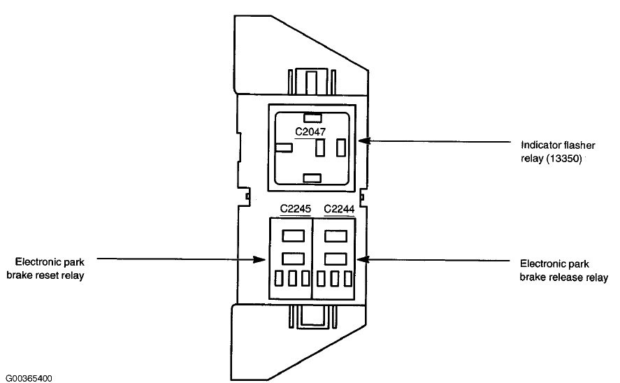 Flasher relay switch
