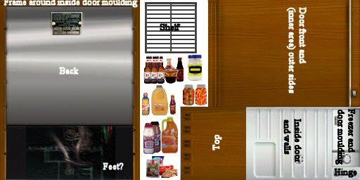 Mod The Sims Castaway Colours For The Minifridge