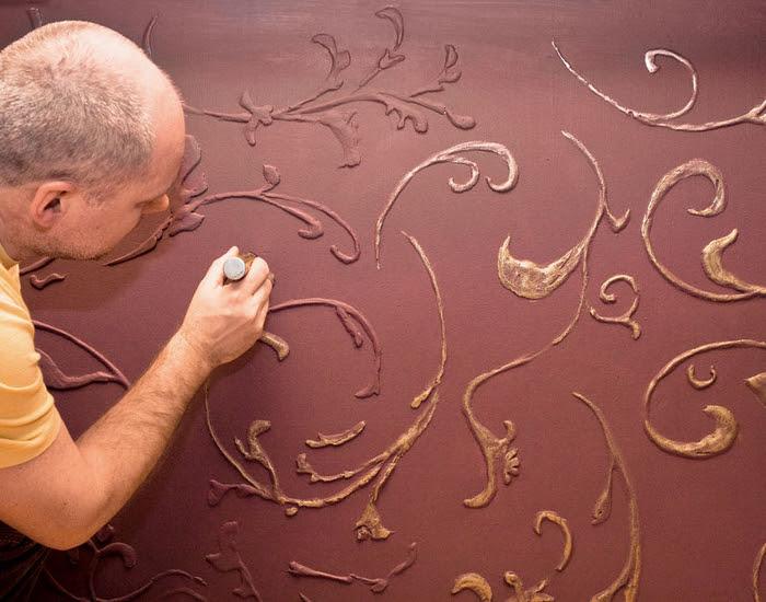 Декорируем стены объемной отделкой (8) (700x550, 369Kb)