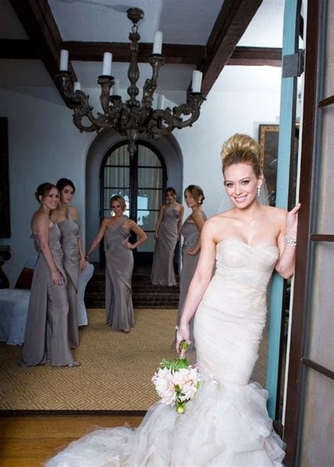 Hilary duff wedding dress   Petite Wedding Dresses