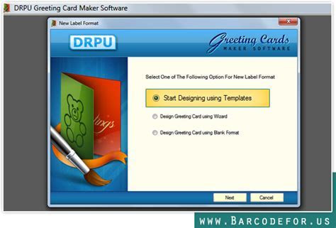 Greeting Card Maker Software designs Christmas cards