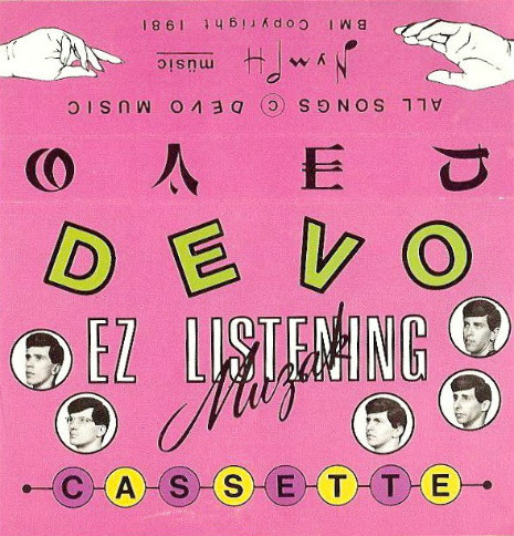 Original Cover Art for the Cassette release of E-Z Listening