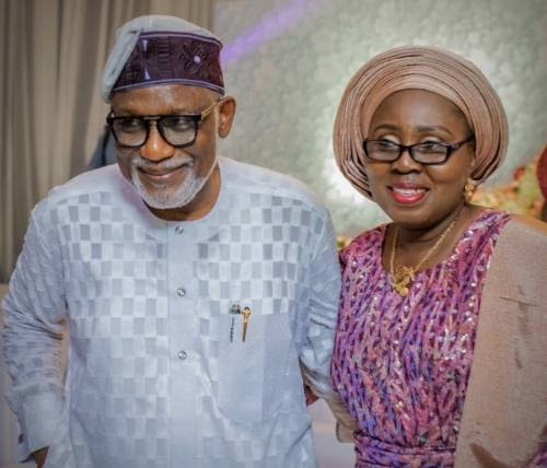 Governor Akeredolu's Wife & Her Security Aides Test Positive For COVID-19