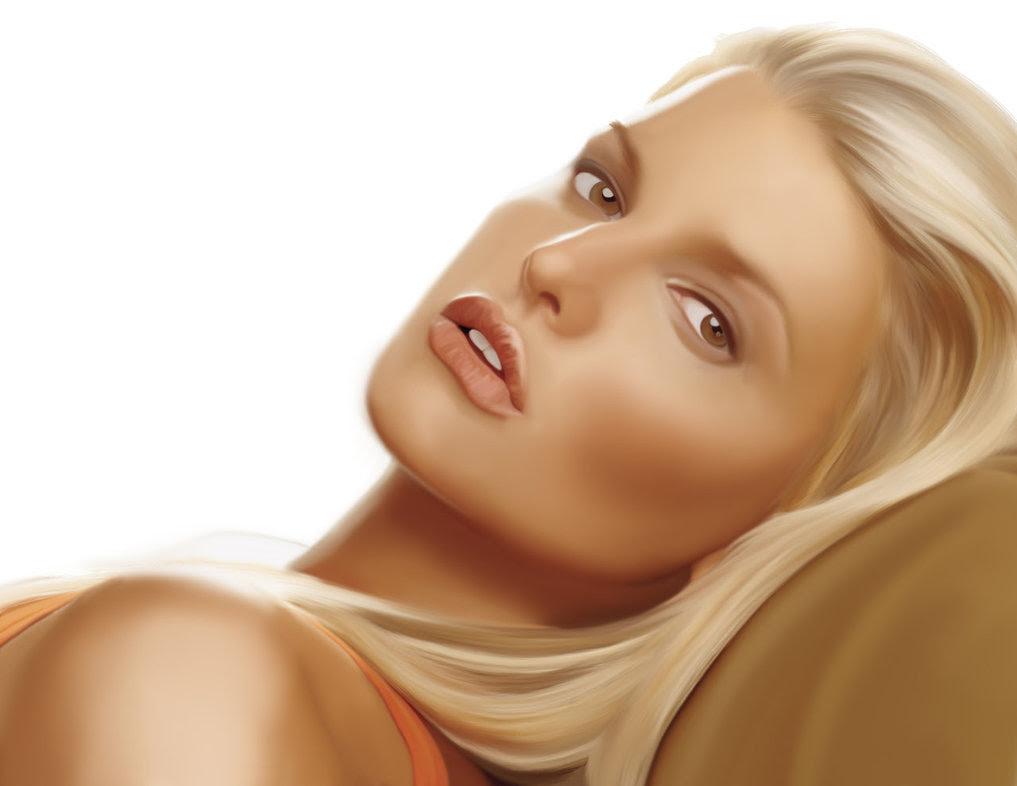 40 obras-primas da pintura digital de celebridades 38