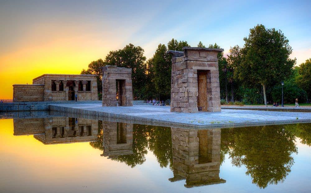 Templul Debod, din Madrid. Foto: Wikipedia