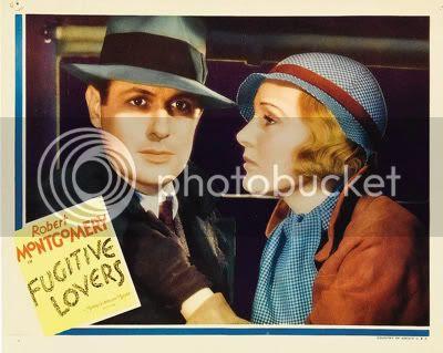 Fugitive Lovers Lobby Card