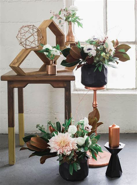 Industrial   Elegant Copper Wedding Inspiration   CEREMONY