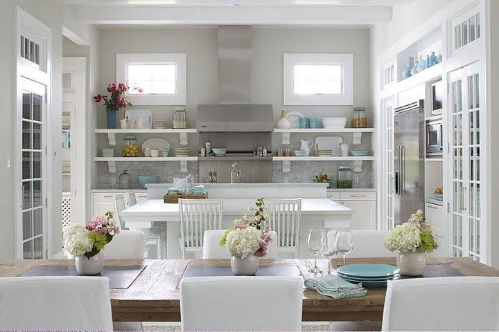 Gray Walls - Contemporary - kitchen - Sherwin Williams ...