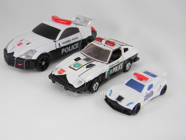 Transformers Prowl Reveal the Shields Legends - modo alterno vs G1 vs Henkei