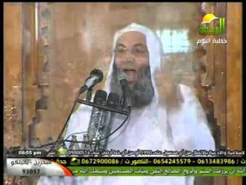 فيديو خطبة الجمعة للشيخ محمد حسان مسجد النور في العباسية 28/12/2012