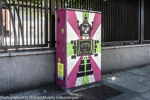 Dublin Street Art - Bolton Street by infomatique