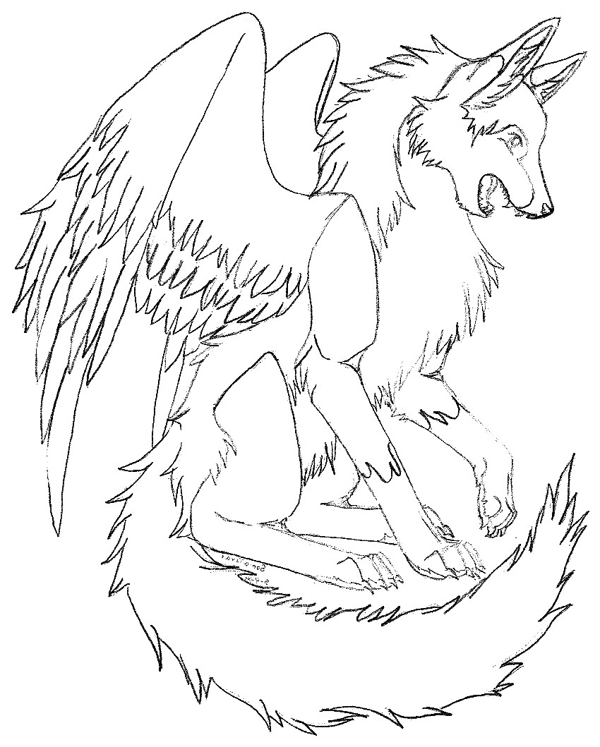 Cool Wolf Coloring Pages at GetColorings.com | Free ...
