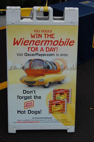 Franklin, MA: Oscar Meyer Wienermobile