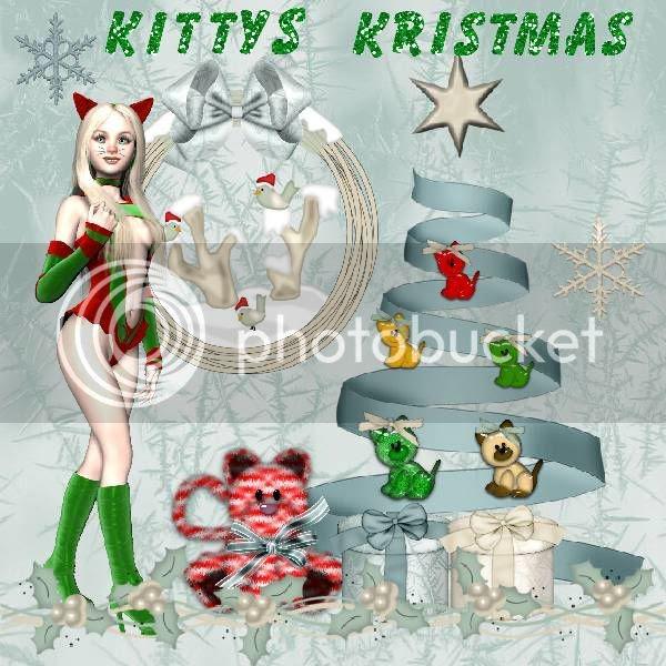 Winter,Christmas,Kitty Cats