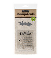 Hero Arts Thanks Stamp  and  Cuts