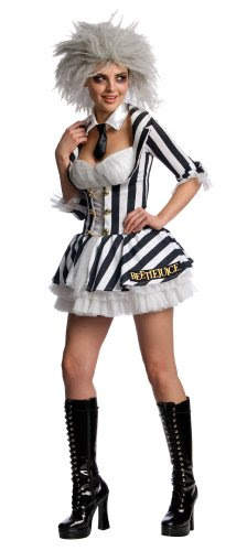 Secret Wishes Women's Beetlejuice Costume,