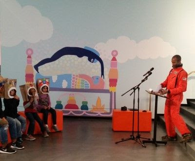 Space Storytelling at Sugar Hill Children's Museum