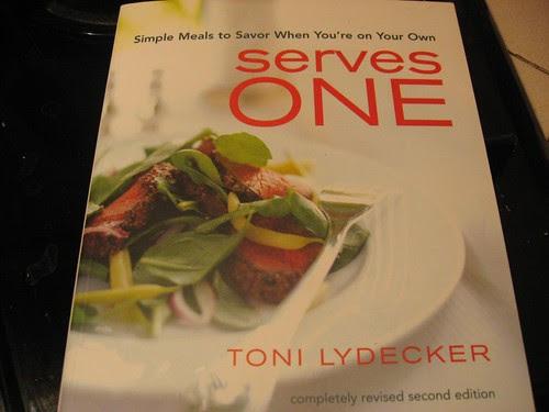 serves one cookbook