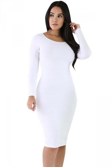 Men wear long white long sleeve ruched bardot bodycon dress brands now