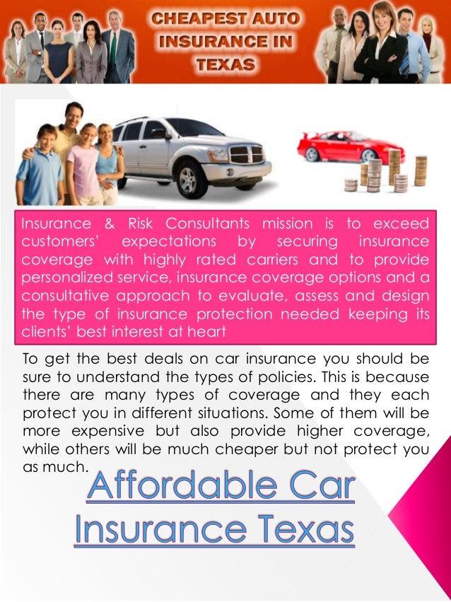 Texas Cheapest Car Insurance