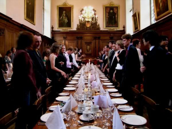 Dinner in Hall
