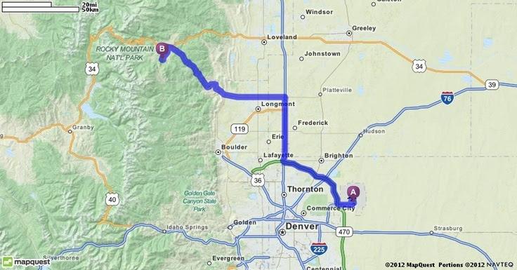 Driving Directions From Denver International Airport Den