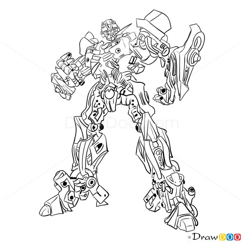 Transformers Drawing At Getdrawingscom Free For Personal Use