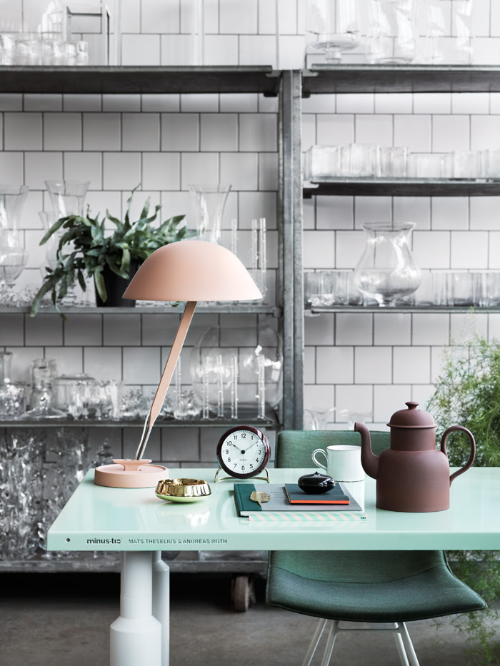 Mint styling by Marcus and Sofie Lawett - via cocolapinedesign.com
