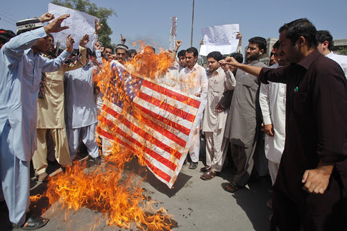 Anti-US demonstrations in Pakistan on September 21, 2012 resulted in the deaths of at least 23 people. Protests against Washington have spread over the last two weeks. by Pan-African News Wire File Photos