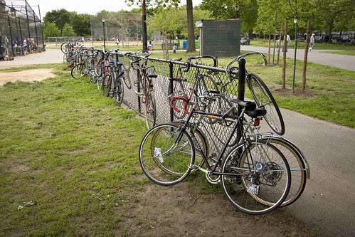 McCarren bike rack
