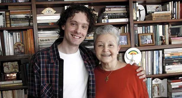 Vincent Villari e Maria Adelaie Amaral, autores de Sagrada Família (Foto: TV Globo)