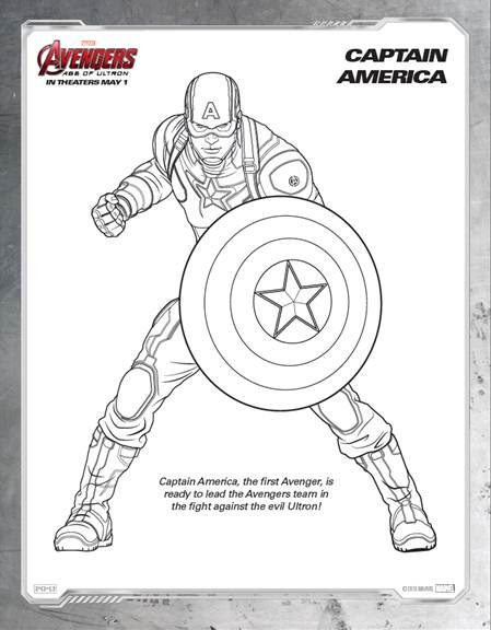76 Top Marvel Avengers Coloring Pages To Print  Images